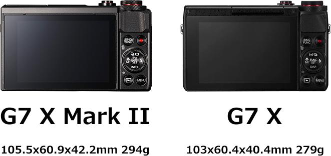 PowerShot G7 X Mark II画像1