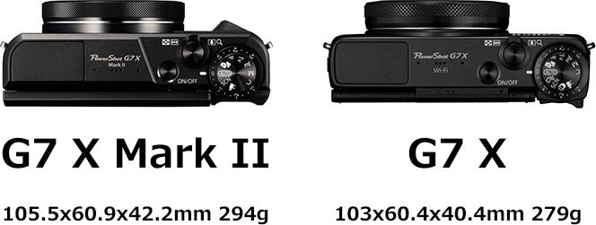 PowerShot G7 X Mark II画像2
