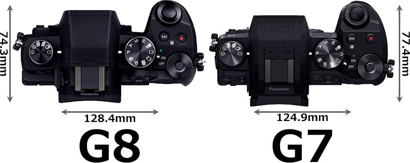「LUMIX G8」と「LUMIX G7」 3
