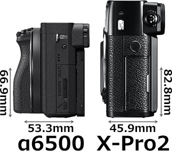 「α6500」と「X-Pro2」 4