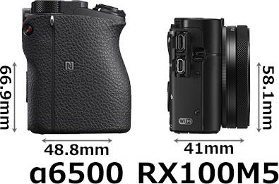 「α6500」と「RX100M5」 5