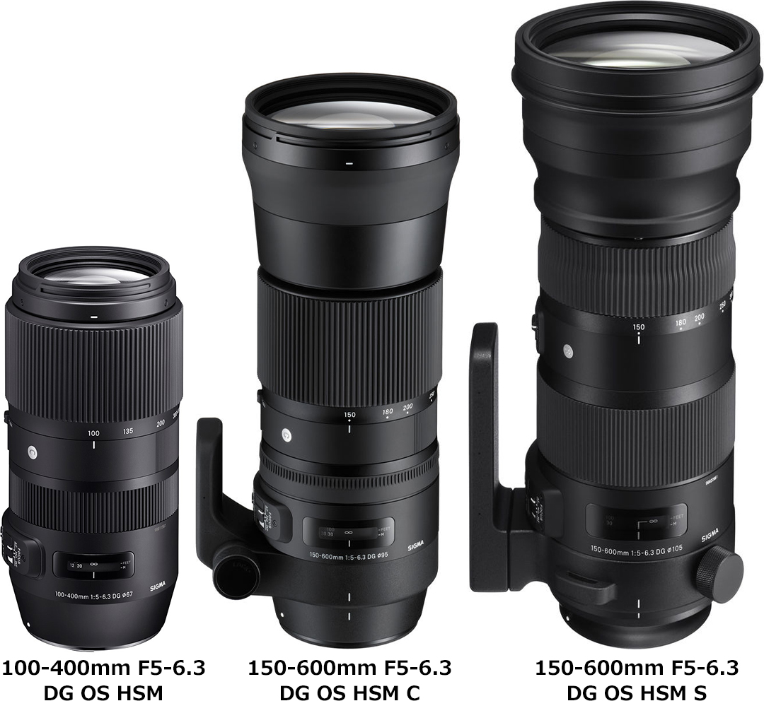 シグマ「100-400mm F5-6.3 DG OS HSM | Contemporary」と「150-600mm F5-6.3 DG OS HSM | Contemporary/Sports」 1