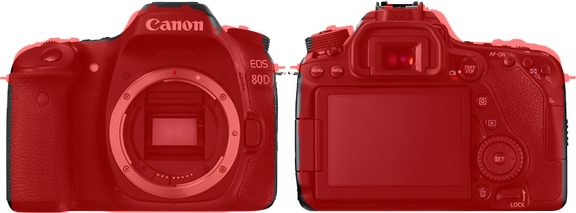 「D7500」と「EOS 80D」 4