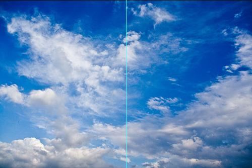 空の写真をより印象的にする方法 4