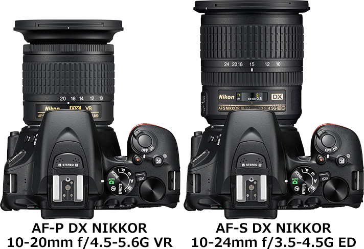 「AF-P DX NIKKOR 10-20mm f/4.5-5.6G VR」の画像検索結果