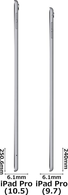 「iPad Pro(10.5インチ)」と「iPad Pro(9.7インチ)」 4