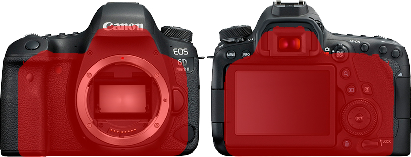 「EOS 6D Mark II」と「EOS Kiss X9」 5