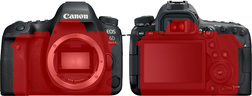 「EOS 6D Mark II」と「EOS M5」 5