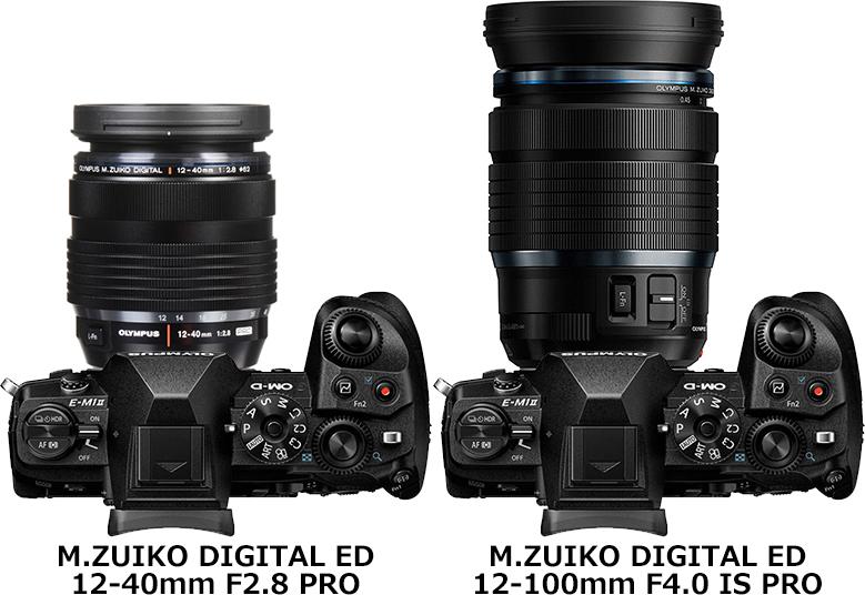 「12-40mm F2.8 PRO」と「12-100mm F4 PRO」 2