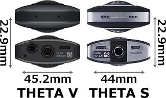 「THETA V」と「THETA S」 4