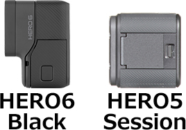「GoPro HERO6」と「HERO5 Session」 3