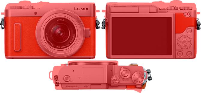 「LUMIX DC-GF10」と「EOS M100」 4