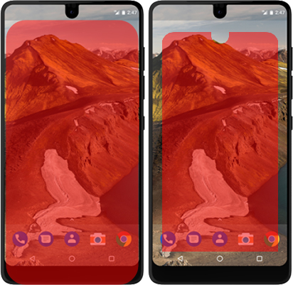 「Essential Phone PH-1」と「AQUOS R compact」 3