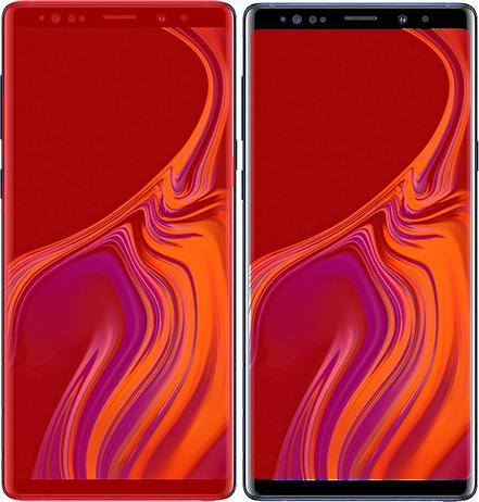 「Galaxy Note9」と「Galaxy Note8」 4