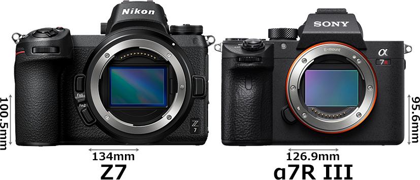 ニコン「Z 7」とソニー「α7R III」 1
