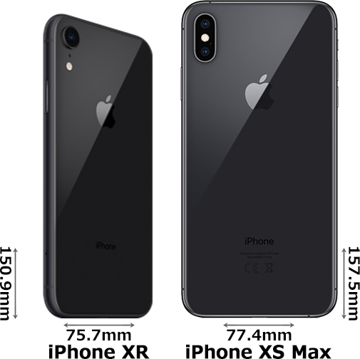 「iPhone XR」と「iPhone XS Max」 2