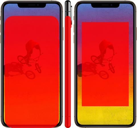 「iPhone XS Max」と「iPhone 8」 4