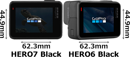 「GoPro HERO7 Black」と「GoPro HERO6 Black」 2