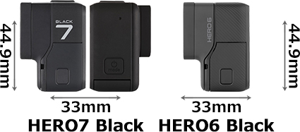 「GoPro HERO7 Black」と「GoPro HERO6 Black」 3