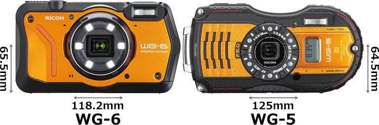 「RICOH WG-6」と「RICOH WG-5 GPS」 1