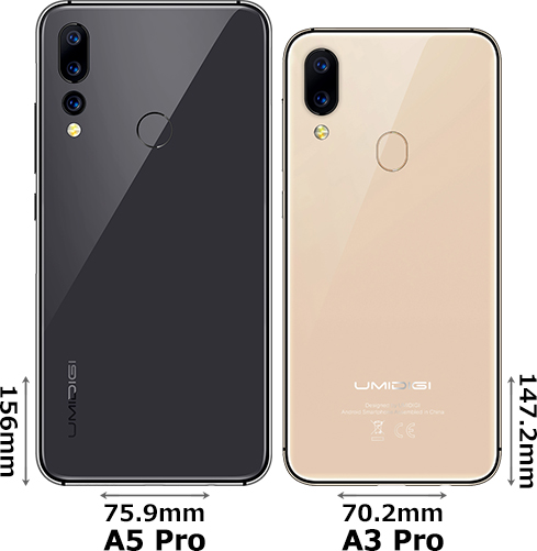 「UMIDIGI A5 Pro」と「UMIDIGI A3 Pro」 2