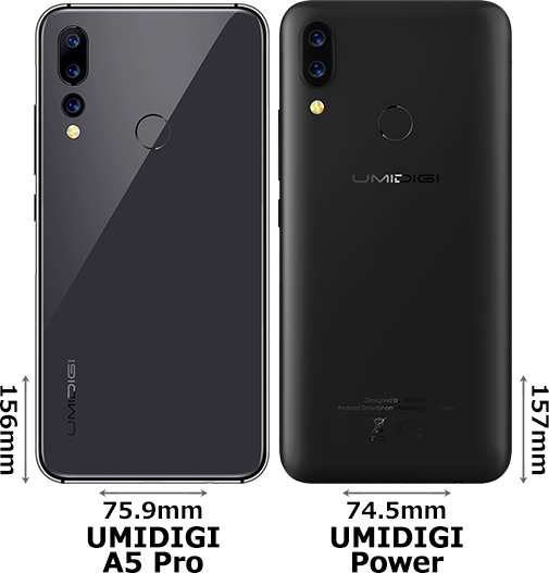 「UMIDIGI A5 Pro」と「UMIDIGI Power」 2