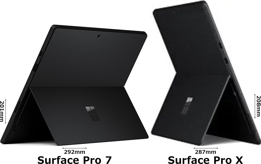 「Surface Pro 7」と「Surface Pro X」 2