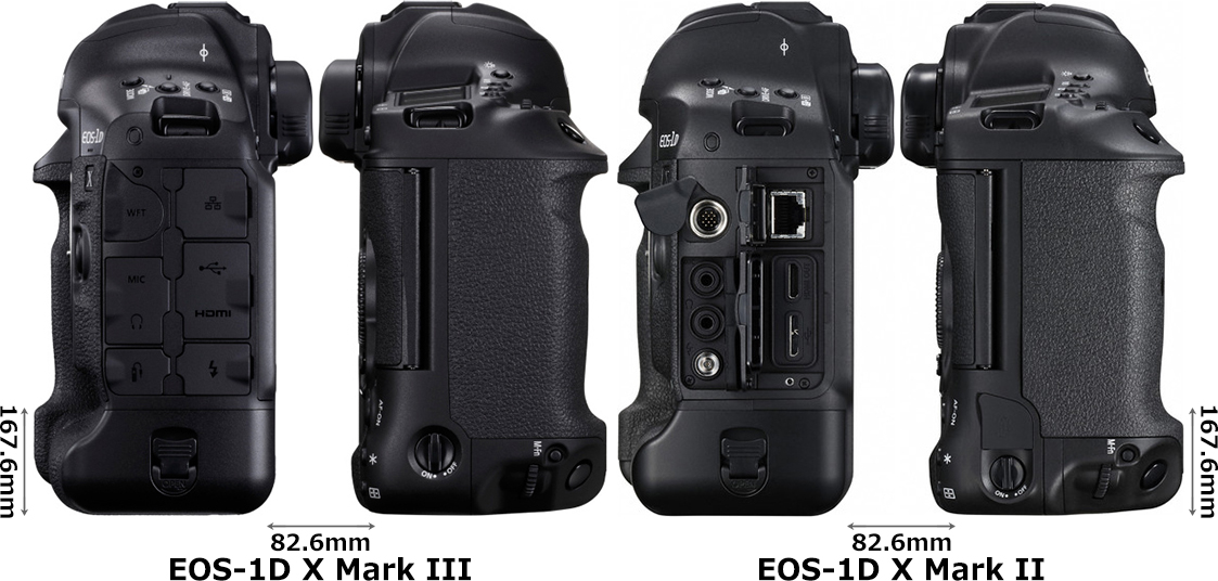 「EOS-1D X Mark III」と「EOS-1D X Mark II」 4