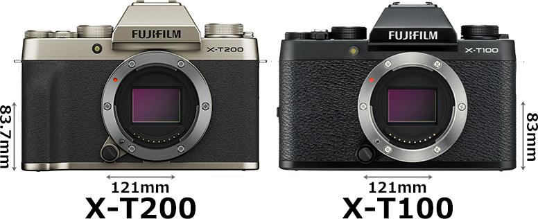 「FUJIFILM X-T200」と「FUJIFILM X-T100」 1