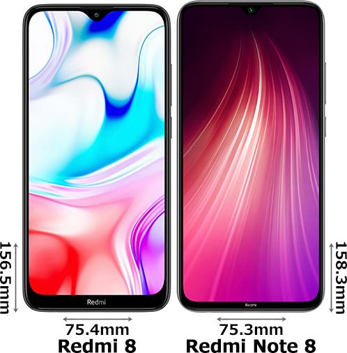 「Redmi 8」と「Redmi Note 8」 1