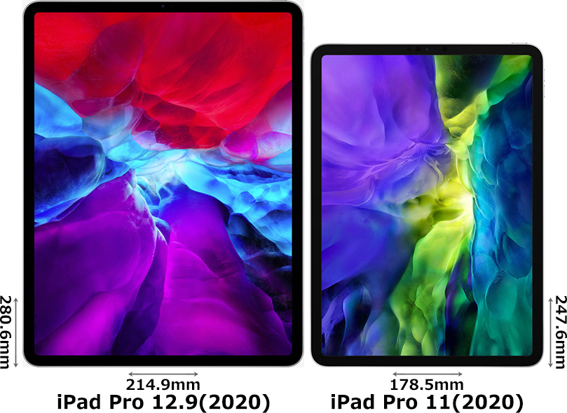 「iPad Pro 12.9インチ (2020)」と「iPad Pro 11インチ (2020)」 1