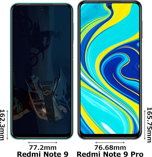 「Redmi Note 9」と「Redmi Note 9 Pro」 1