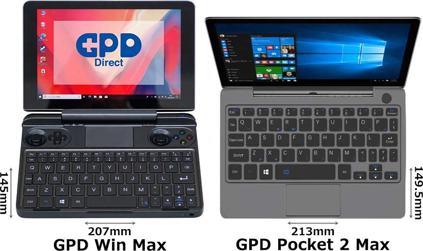 「GPD WIN Max」と「GPD Pocket 2 Max」 1