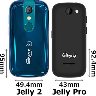 「Jelly 2」と「Jelly Pro」 2