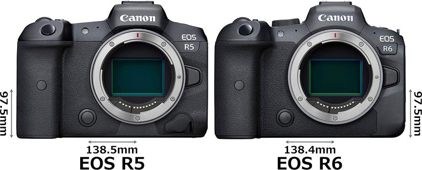 「EOS R5」と「EOS R6」 1