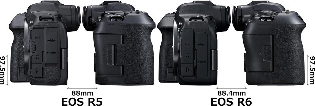 「EOS R5」と「EOS R6」 4