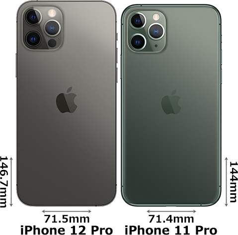 「iPhone 12 Pro」と「iPhone 11 Pro」 2