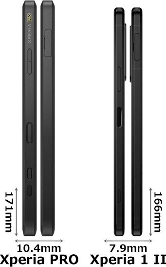 「Xperia PRO」と「Xperia 1 II」 3