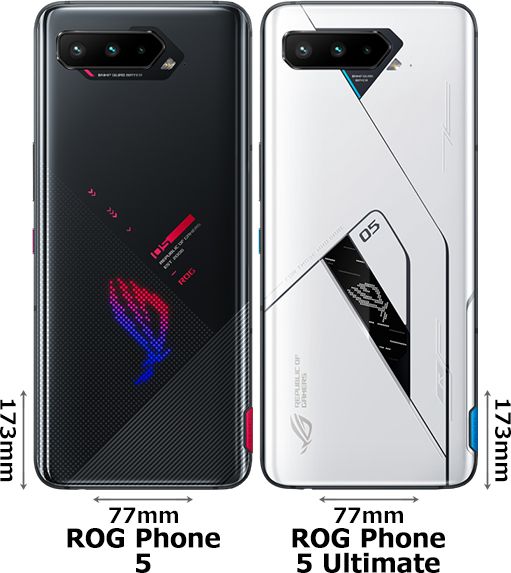 「ROG Phone 5」と「ROG Phone 5 Ultimate」 2