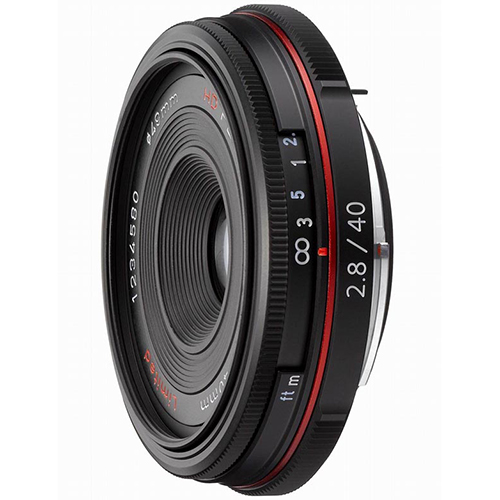 HD PENTAX-DA 40mmF2.8 Limited (ブラック)