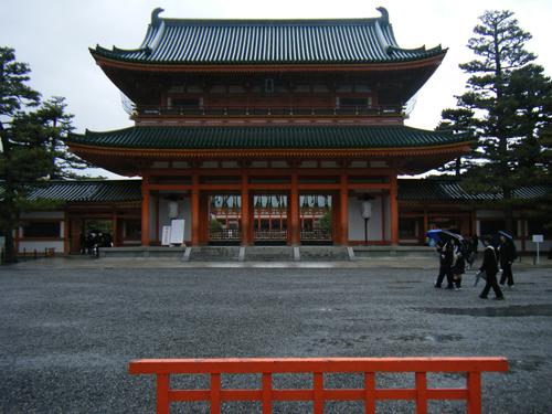 平安神宮の高画質画像