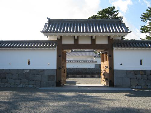 小田原城の門 1の高画質画像