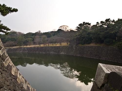 皇居のほとり 1の高画質画像