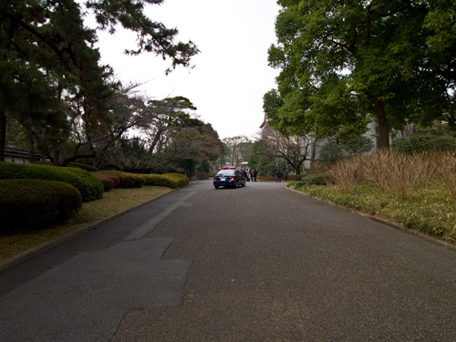 皇居警察のパトカーの高画質画像
