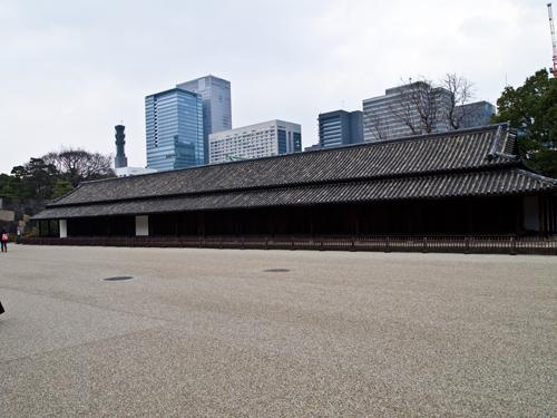 皇居の建物の高画質画像