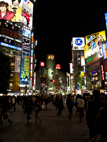 夜の渋谷 4の高画質画像
