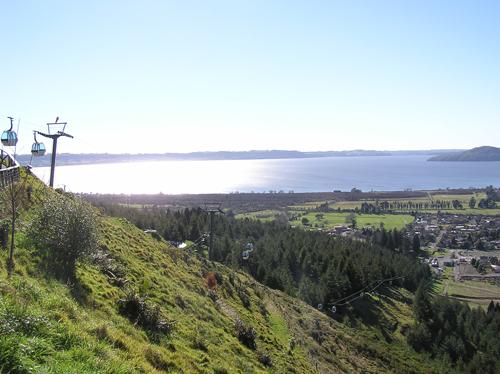 ニュージーランドのロープウェイ 1の高画質画像