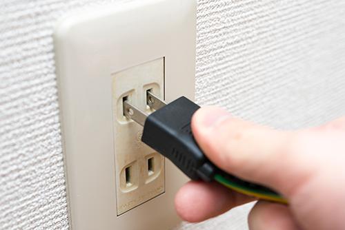 電気コード コンセント 1の高画質画像