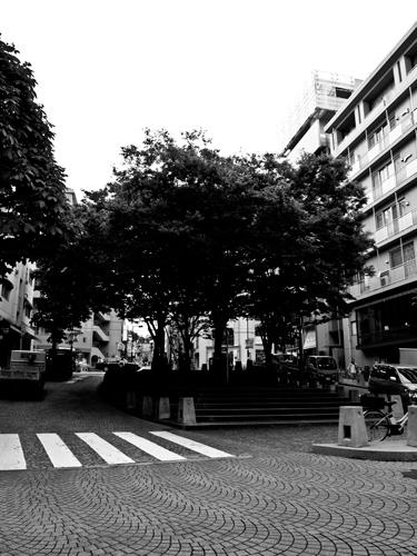 麻布十番の街並みの高画質画像