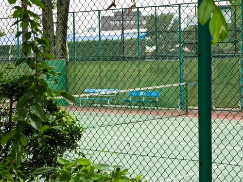テニスコート 1の高画質画像